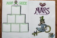 Mini Geek et page de Mars