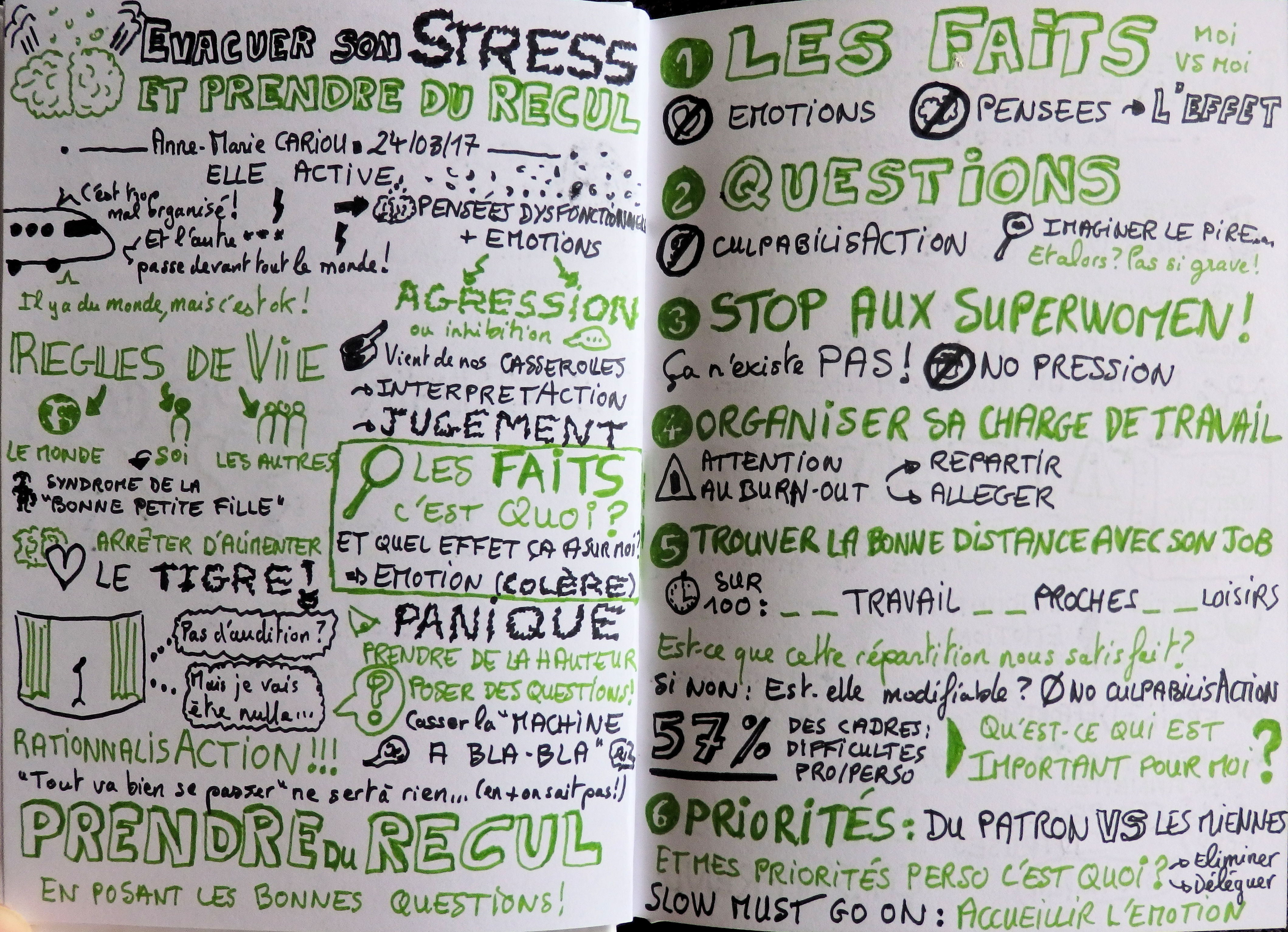 Évacuer son stress et prendre du recul avec Anne-Marie Cariou