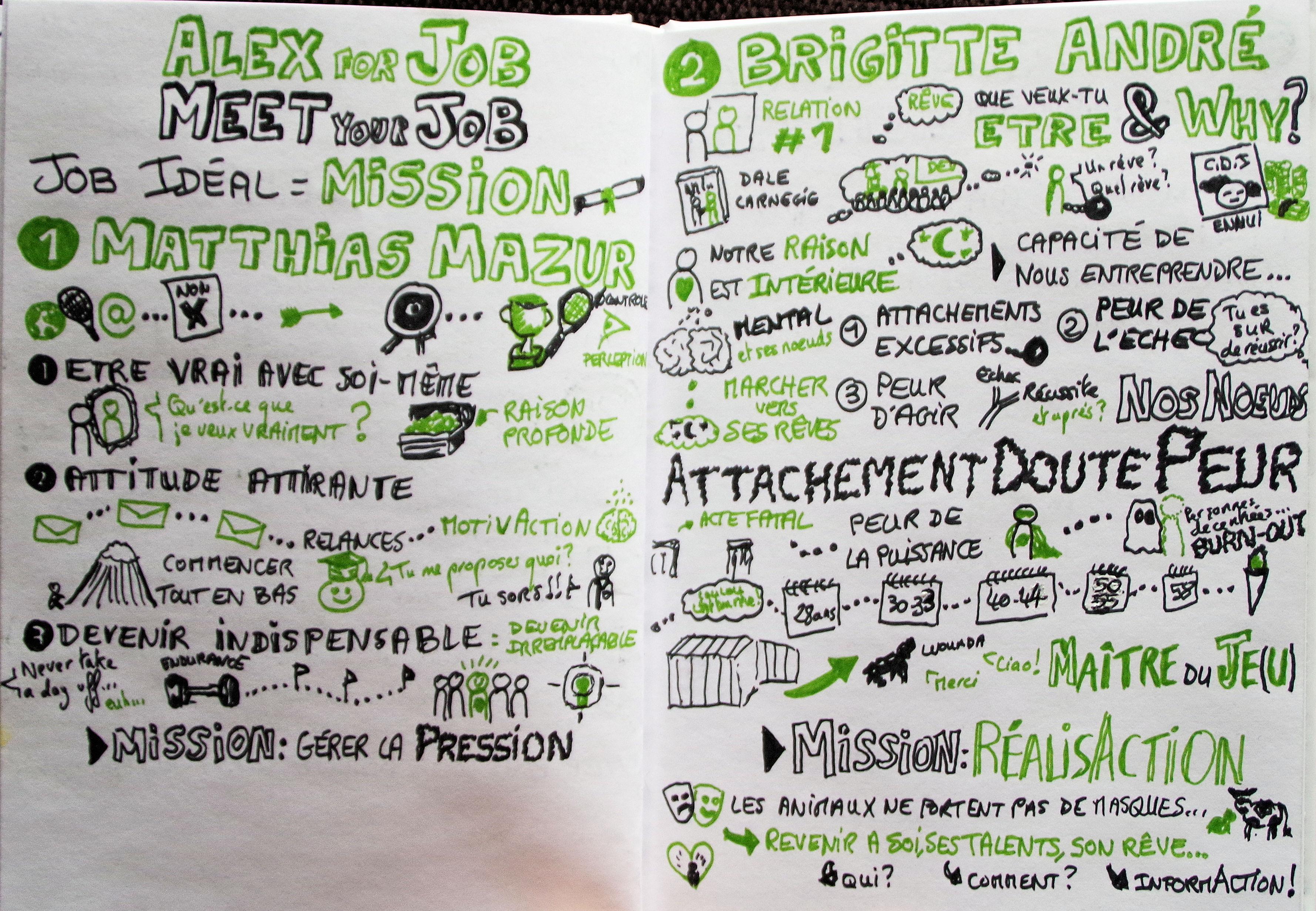 MEET YOUR JOB #1 par Alexandra Vassilacos avec Mathias Mazur et Brigitte André