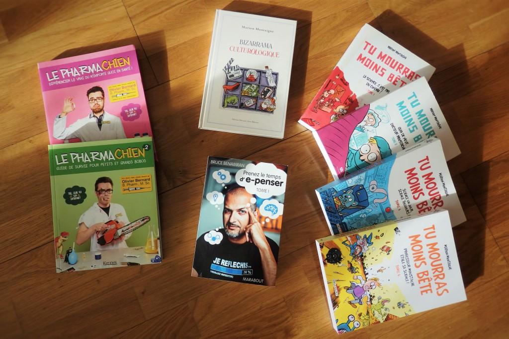 Les livres de mes (d)Role models !