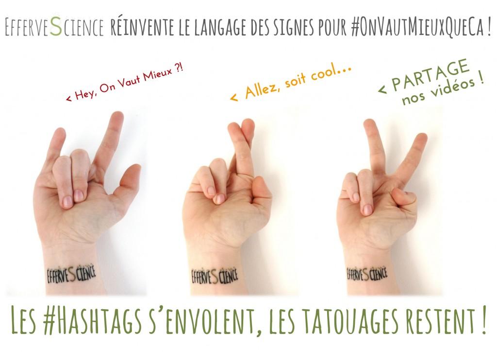 EfferveScience réinvente le langage des signes !