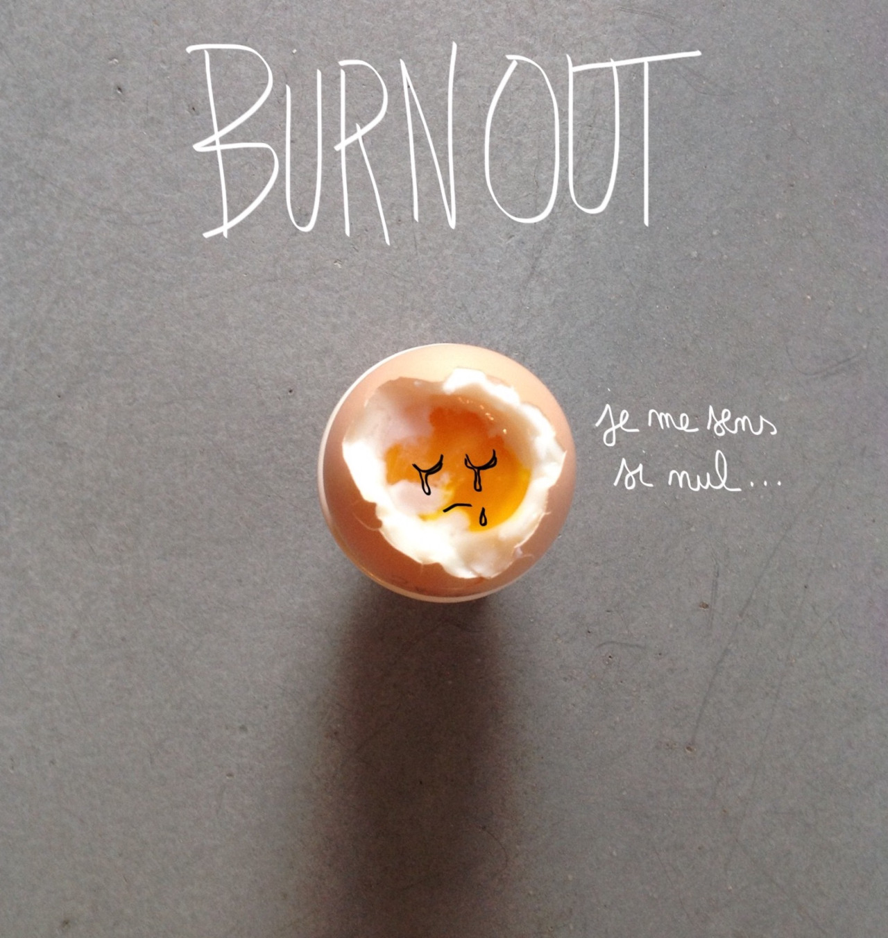 "egg@work ""burnout"" par Cibi1974"