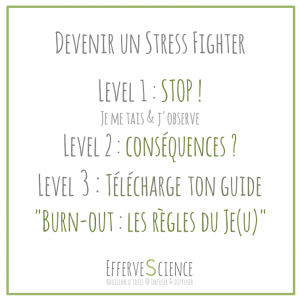 Devenir un Stress FIghter-conscience