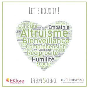 Eklore Altruisme let's doux it Alizée Thurneyssen