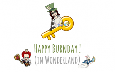 Happy burnday ! (in Wonderland)