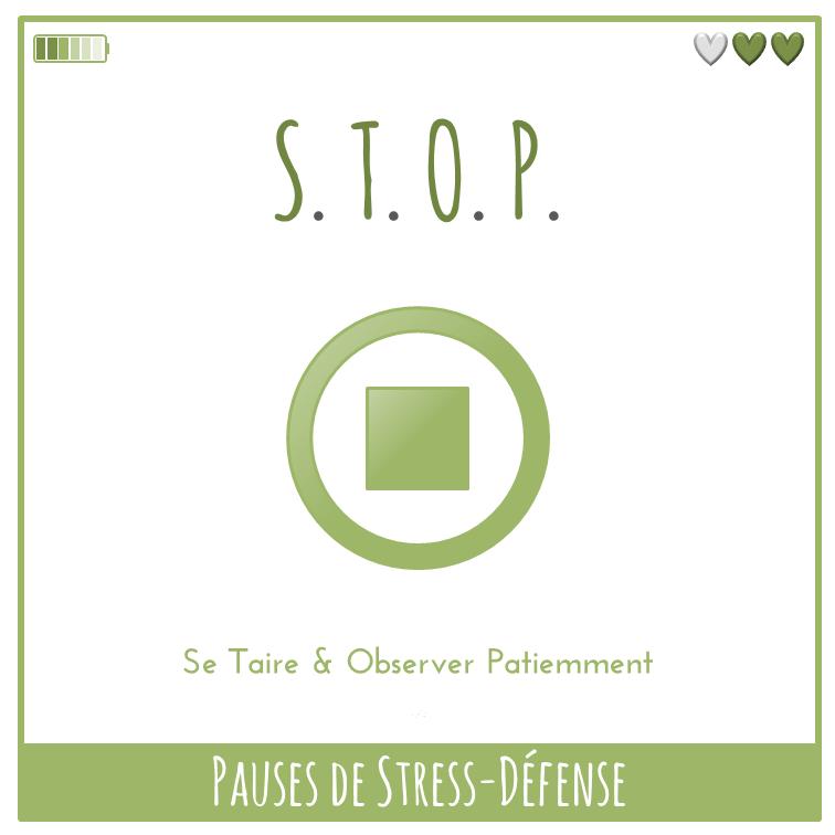 Pauses de Stress-Défense - S.T.O.P.