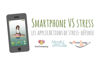 Smartphone VS stress : les applicActions de stress-défense