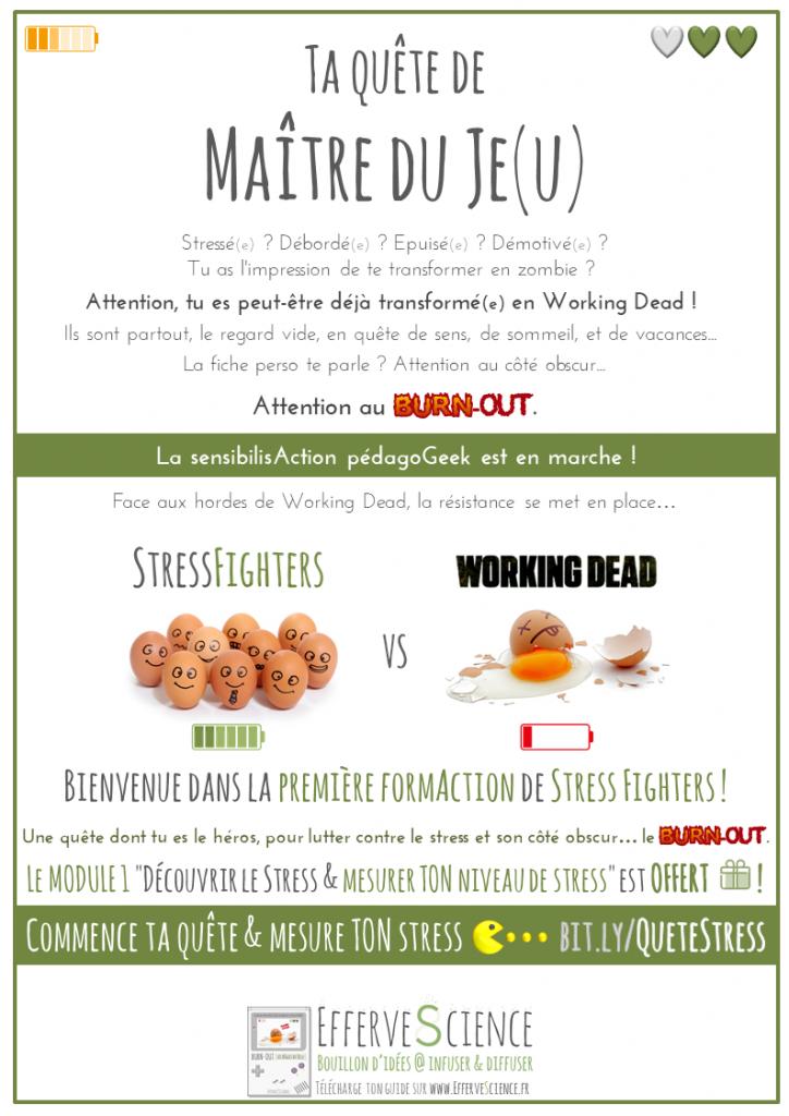 Commence ta quête de Maître du Je(u) : la fiche perso du Working Dead