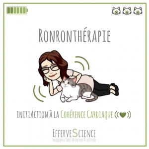 La ronronthérapie, initiActrice de cohérence cardiaque