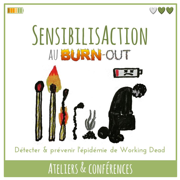 Ateliers et Conférences – SensibilisAction au burn-out