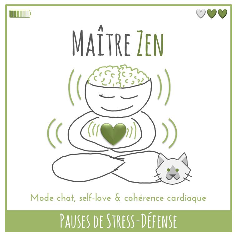 Pauses de Stress-Défense - Maître Zen
