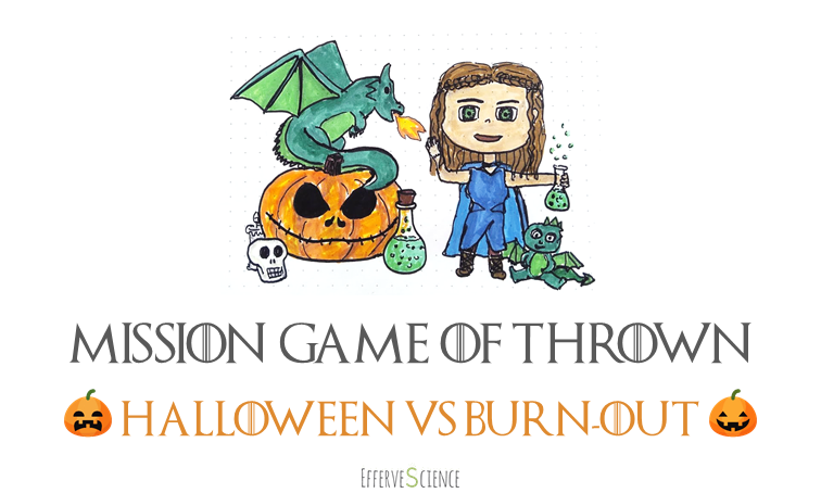 Halloween VS burn-out