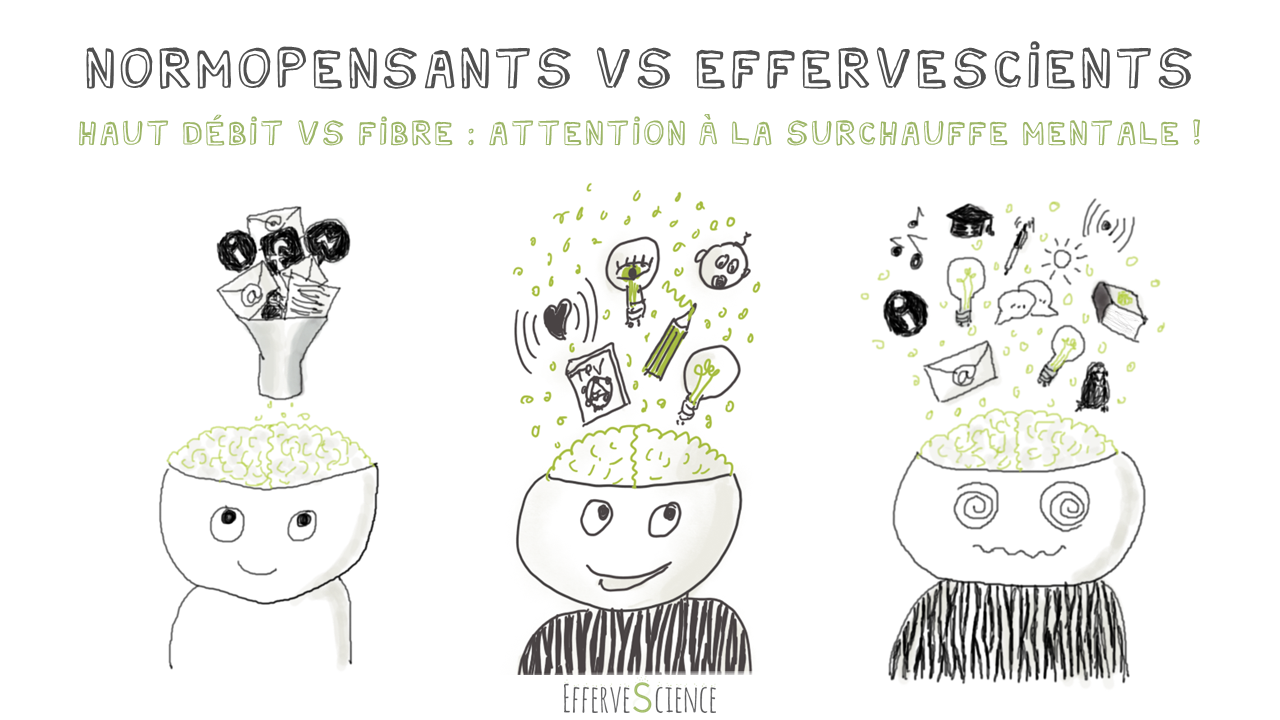 Normopensants VS EfferveScients : attention à la surchauffe mentale