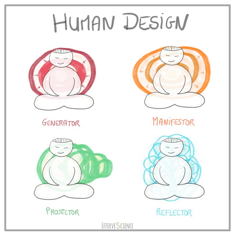 Les 4 types du design humain